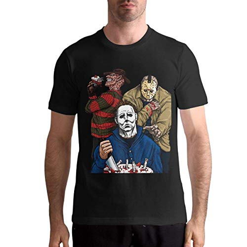 Slashy Birthday Michael Myers Das Freizeit-T-Shirt von Jason Man Athletic L