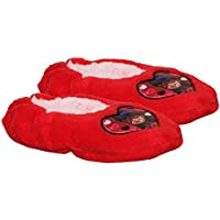 Miraculous Tales of Ladybug & Cat Noir Girls Coral Fleece Slipper Set
