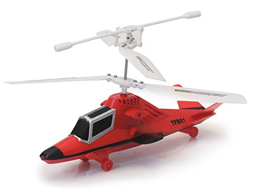 The Flyers Bay Powerful Radio Controlled Helicopter - Power Version 2.0 (Red)