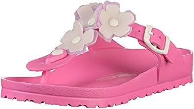 Birkenstock Chaussures - Gizeh Eva Flower - 1011905 - Neon Pink, Taille:EUR 38
