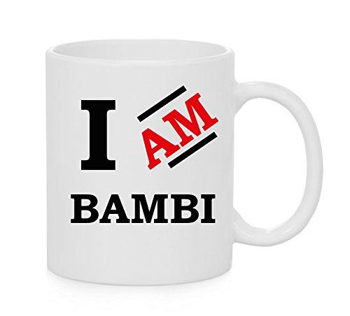 I am Bambi tazza ufficiale