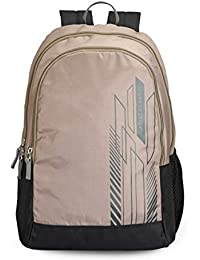 Aristocrat Zing 24 Ltrs Fawn Casual Backpack (BPZING1FWN)