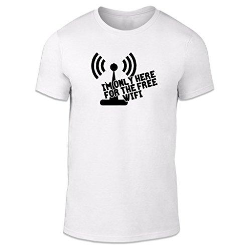 WTF Herren T-Shirt Weiß