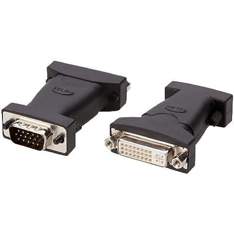 Belkin Pro Series - Adaptador VGA-DVI, color negro