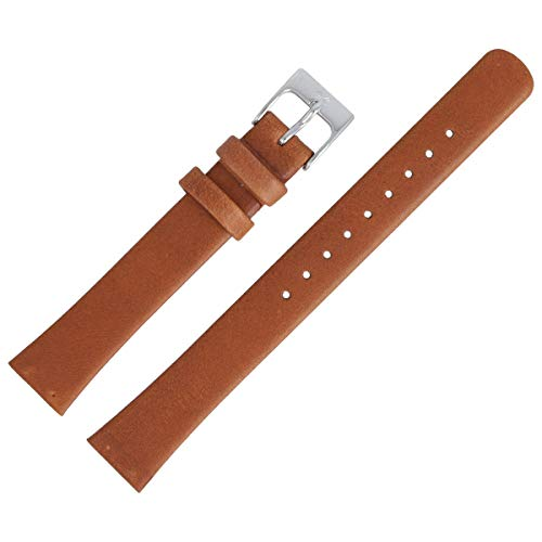 Skagen Uhrenarmband 14mm Leder Braun Glatt - SKW2192 (Skagen Band-ersatz)