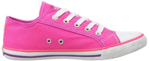 Dockers by Gerli 347564-323846 Unisex-Kinder Sneaker Violett (Fuchsia)