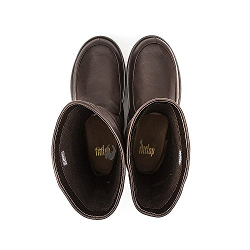 FitFlop Superloafer (leather), Mocassins (loafers) femme Chocolat
