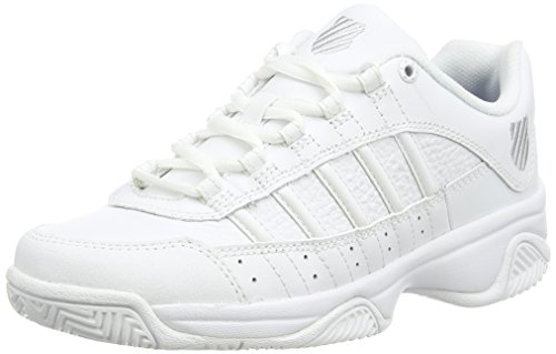 K-Swiss Performance KS TFW OUTSHINE Damen Tennisschuhe Weiß (WHITE/PLATINUM 147)