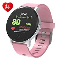 BingoFit Epic Fitness Tracker Smart Watch, Activity Tracker with Heart Rate Monitor, Waterproof Pedometer Watch with Sleep Monitor, Step Counter for Kids Men Women