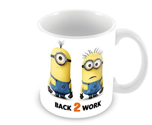 Einfach Unverbesserlich Minion Back 2?Arbeit Tasse, Keramik wei? Steinware???von FT