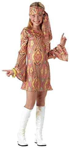 Californie Costume Collection 31574 Disco Dolly Enfant Taille du Costume Grandes-Filles 12-14