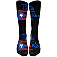 Puerto Rico Casual Unisex Sock Knee Long High Socks Sport Athletic Crew Socks One Size preisvergleich bei billige-tabletten.eu
