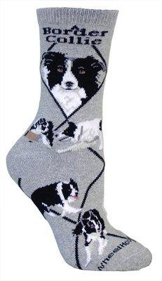 border-collie-cane-design-calze-in-grigio-gray-medium