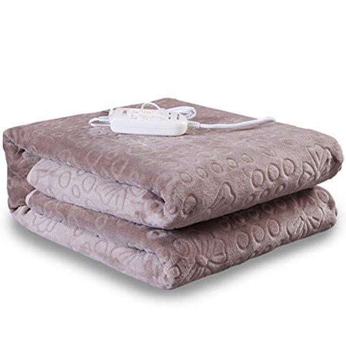 Wärmeunterbett,Heizdecke Elektrische heizdecke Doppelten kontrolle Erhöhung Verdicken sie Komfort wärme-unterbett-A 140x170cm(55x67inch)