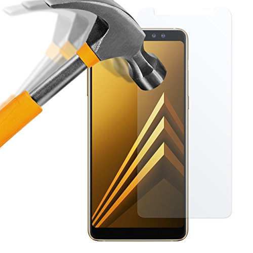 moodie Panzerglas Folie für Samsung Galaxy A9 2018 [2 Stück] Premium Glasfolie 9H Panzerglasfolie für Samsung Galaxy A9 2018