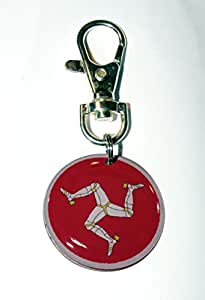 """Porte-clés """"île de man»"""
