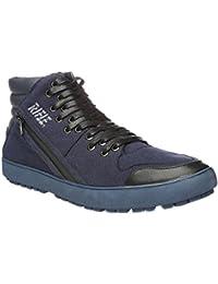 Rifle Zapatos del Hombre, Cierre de Los Cordones, Estilo Corriente. Mod. 162-M-318-866