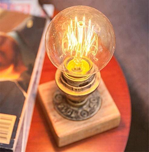 CICI Moderne Glastischlampe 3D Speckle Copper Finish [Energieklasse A +] -