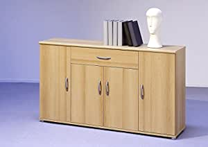 sideboard kommode anrichte mehrzweckschrank highboard schrank lilly 13 varianten mit 4 t ren 1. Black Bedroom Furniture Sets. Home Design Ideas