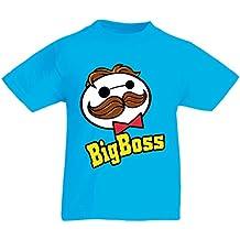 lepni.me Camiseta para Niño Niña Gran Jefe - Camisa Divertida de ... 481cd4733c4f5