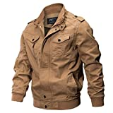 Manadlian Herren Jacke Winterjacke Kleidung Jacke Mantel Militär Kleidung Taktisch Outwear Atmungsaktiv Licht Windjacke