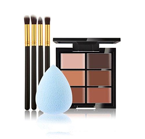 jascherry-pro-4-pcs-make-up-brushes-3-1-sponge-puff-6-colours-cream-concealer-camouflage-makeup-pale