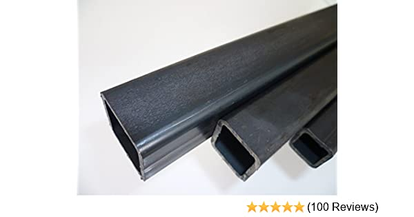 0//-3 mm Quadratrohr ST37 schwarz roh Hohlprofil Rohstahl B/&T Metall Stahl Vierkantrohr 80 x 80 x 3 mm in L/ängen /à 500 mm