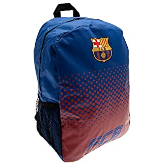 41kYuymDdcL. SS324  - Barcelona FC Football Club Backpack Rucksack Bag Red Blue Fade Design Official