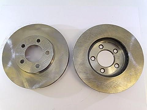 2x Bremsscheibe Rotor vorne 54016als Tec für Ford Taurus Windstar Lincoln Continental