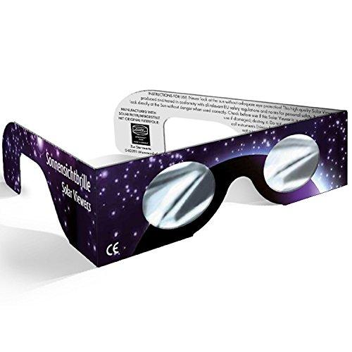 onnensichtbrille mit Baader AstroSolar Silver Folie (Farbe nicht frei wählbar) ()