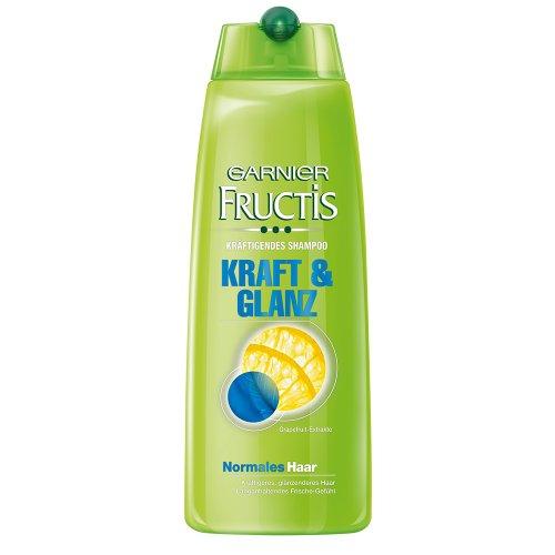 Garnier Fructis kräftigendes Shampoo Kraft und Glanz, Haarshampoo für normales Haar, 6er Pack (6 x 250 ml)