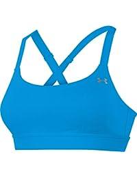 Under Armour Eclipse de las mujeres sujetador deportivo, mujer, Fitness Bustier und Top UA Eclipse Bra, turquoise - Jzb/Msv, L