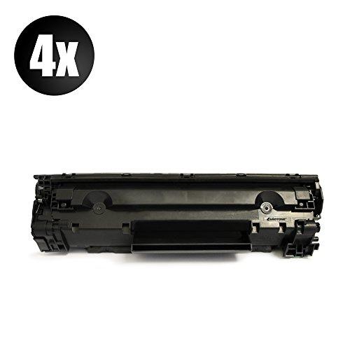 4x Eurotone Toner für Canon I-Sensys MF 3010 ersetzt 3484B002 725 Schwarz Black EP725