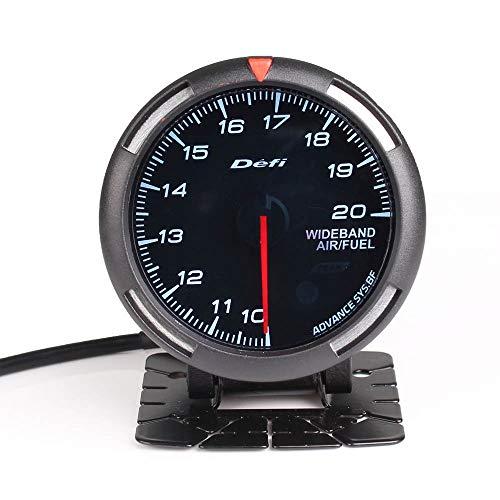 Easy Go Shopping Tabella di Rapporto Aria-Carburante voltmetro, Strumento di Modifica for Auto quadrante colorato da 2,5 Po
