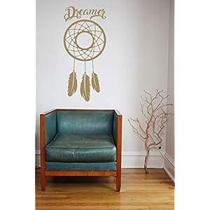 Dreamer, Dreamcatcher, Vinyl, Wandkunst Aufkleber, Wandbild, Aufkleber. Haus, Wanddekoration, Küche, Esszimmer, Schlafzimmer.
