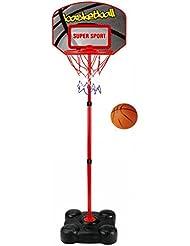 Generic YanHongUK3150821_107 1yh4699yh T y juego de bolas de canasta de tabla ADJUS para niños incluye función de atril ajustable de pie para niños SKETBALL de pelota de baloncesto juego de bolas de EE STANDI