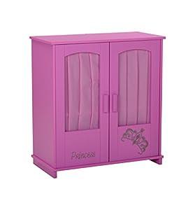 Knorrtoys Diadem Pink Armario de muñeca - Accesorios para muñecas (Armario de muñeca, Rosa, 390 mm, 280 mm, 430 mm)
