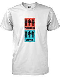 Problem solved - Funny T-shirt - S to XXL Unisex