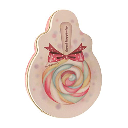 ve Weißblech-Boxen [Lutscher] 10 Stück Hochzeit Süßigkeiten-Boxen Mini-Schokolade-Boxen ()