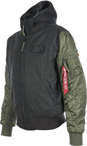 ALPHA INDUSTRIES MA1 D-Tec Wool Jacket | Sage Sage