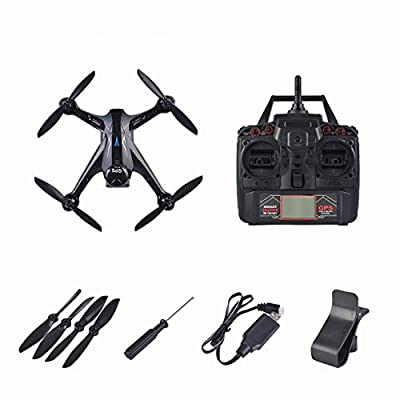 Heaviesk Quadrocopter Four Axis Aircraft GPS Drone 1080P Pixel Professional with 2.4G WiFi Camera Brushless RC Drone Ray X198