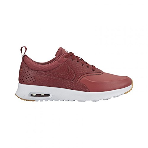 NIKE Air Max Thea PRM Womens Running Trainers 616723 Sneakers Shoes (UK 5.5 US 8 EU 39, Cedar Gum Yellow White 604)
