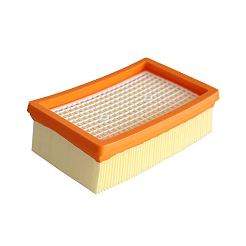 Hshduti sostituzione aspirapolvere filtro hepa filtrazione di polvere per karcher mv4 mv5 mv6 yellow