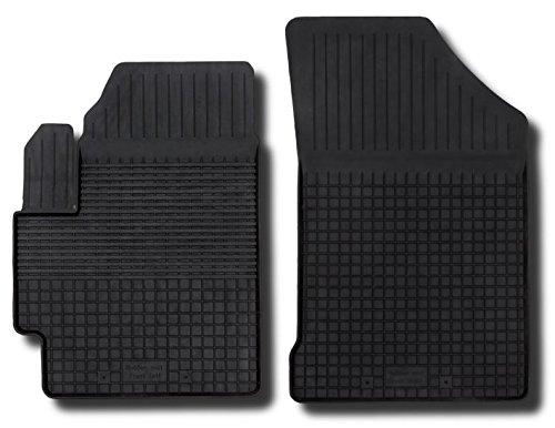 Preisvergleich Produktbild 3D Profi Gummifußmatten Klasse 1+ Autoteppiche hoher Rand passend für KIA RIO 2 II 2005 - 2011