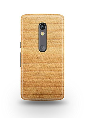 Moto X Play Cover,Moto X Play Case,Moto X Play Back Cover,Light Brown Wooden Moto X Play Mobile Cover By The Shopmetro-12177
