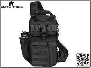 camping sacs à dos de randonnée trekking tactique sacs à bandoulière noir