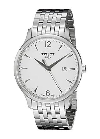 Tissot Herren-Armbanduhr Analog Quarz Edelstahl T063.610.11.037.00