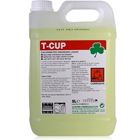 T-Cup Stain Remover for Crockery, Cup, Mug and Tableware (5L).