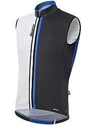 SantiniAirform 2.0 –Camisa paraviento de manga corta., hombre, color Turquoise/Black, tamaño medium