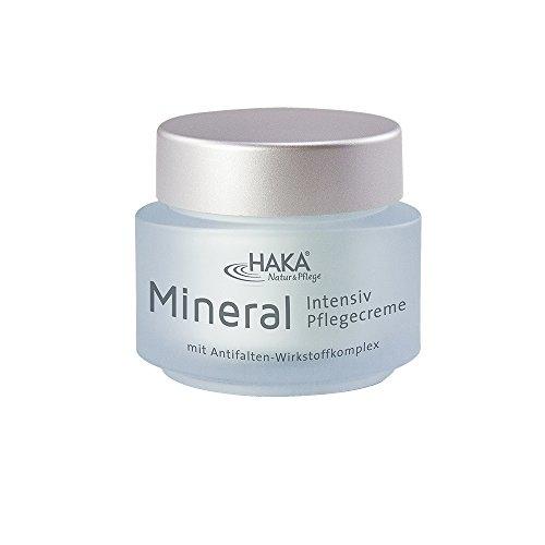 HAKA Pflegecreme Mineral Intensiv I 50 ml Tiegel I Anti Falten Creme für Damen I Tagescreme, Nachtcreme mit Zink, Magnesium und Kupfer I...